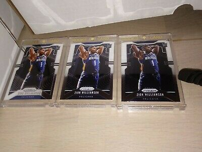 ZION WILLIAMSON 201920 PANINI PRIZM 248 Rookie Chase Random 4 Cards Re-Pack