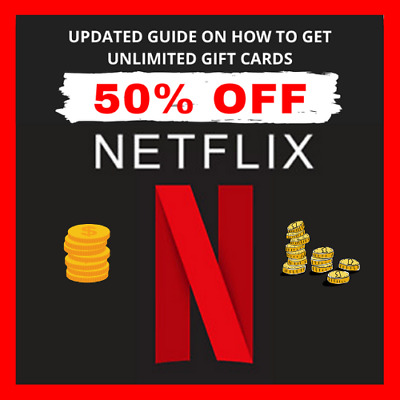 How Get Netflix Gift Cards UP To 40-60 Off Discounted With BONUS Cash Back