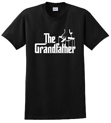 The Grandfather Parody T-Shirt Funny Grandpa God Fathers Day Tee Shirt S-5XL