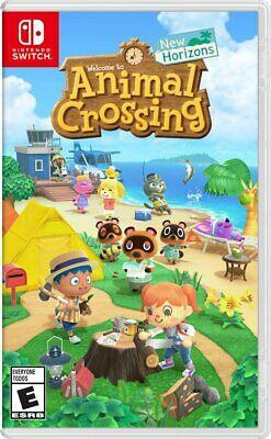 Animal Crossing New Horizons - Standard Edition Nintendo Switch 2020 New