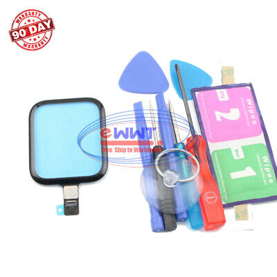 FREE SHIP for Apple Watch Series4 44mm Black Touch Screen Digitizer-Tool ZVLU875