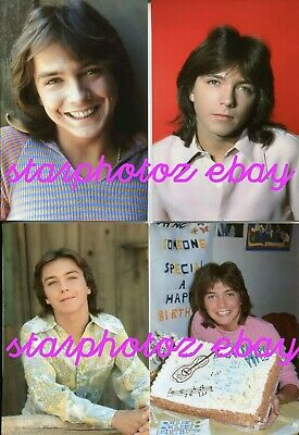 21 BRAND NEW Classic DAVID CASSIDY Photos  Never Before Seen