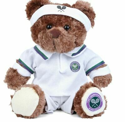 WIMBLEDON TENNIS CHAMPIONSHIP PLAYER MASCOT PLUSH TEDDY TOY OFFICIAL BRAND NEW