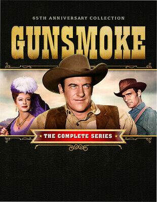 Gunsmoke The Complete Series 65th Anniversary Collection New DVD Boxed Se