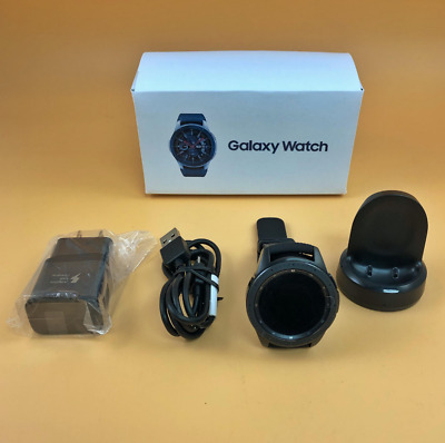 Samsung Galaxy Watch 42mm SM-R815 LTE UNLOCKED Bluetooth - Black