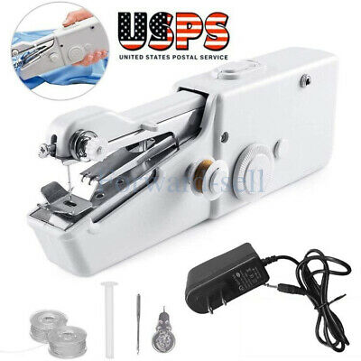 Mini Portable Smart Electric Tailor Stitch Hand-held Sewing Machine -Charger