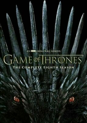 Game of Thrones Complete Season 8 DVD  2019 DVD 4-Disc  New - Sealed