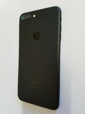 Apple iPhone 7 Plus A1661 Jet Black Original Housing Frame Cover Replacement