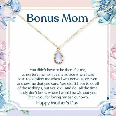 Mothers Day Gemstone Necklace