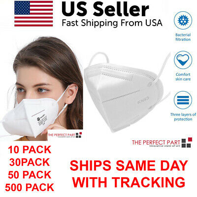 KN95 Face Mask Disposable Mouth Cover Protective Respirator Covers Medical Grade