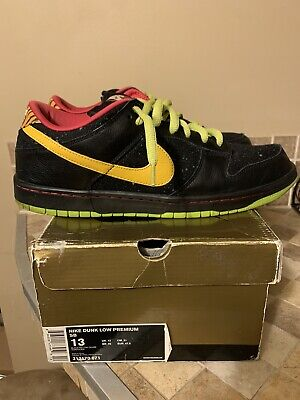 Nike Dunk Low Premium SB Space Tiger Chunky Dunky Travis Scott  13 Strangelove