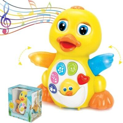 Light Up Dancing Singing Duck Toy Infant Baby Toddler Musical Educational Toy