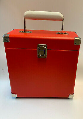 Record Carrying Case 7 Inch Records Decorative Storage Box