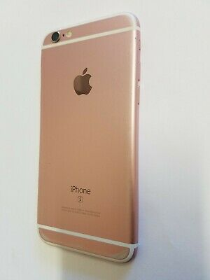 Apple iPhone 6S A1688 Rose Gold Main Housing Mid Frame Back Cover Replacement