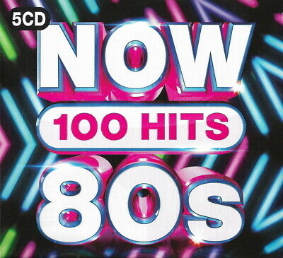 100 Greatest Hits of the EIGHTIES  New 5-CD Boxset  All Original 80s Hits