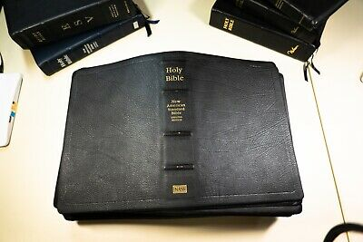 Lockman NASB Calfskin Covers by ABBA for French Milled Bibles