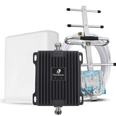 Cell Phone Signal Booster Kit 700MHz Band 121317 Boost 4G LTE for Verizon AT-T