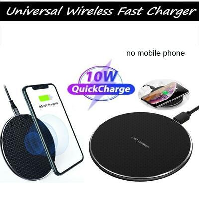 Qi Wireless Fast Charger Charging Pad Dock for iPhone Samsung Cell Phone Android