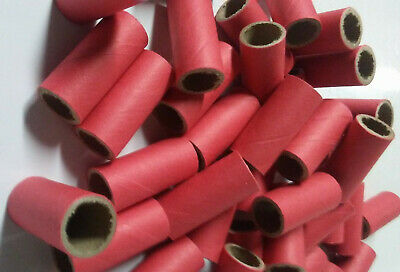 Pyro Tube Supplies M80 916 x 1-12 with plastic plugs 2550 Firework Salute