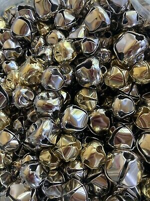 Silver Gold Jingle Craft Metal Bells Holiday 450- 38 12 58 34 Bell