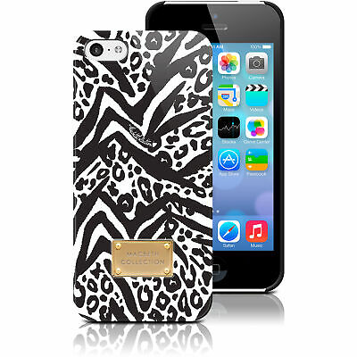 Macbeth Celebrity Apple iPhone 5C Hardshell Case Leopard BlackWhite