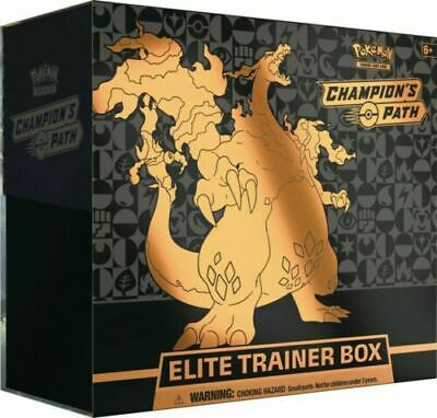 Pokemon TCG Champions Path Elite Trainer Box Sealed 10 Booster Packs In Stock