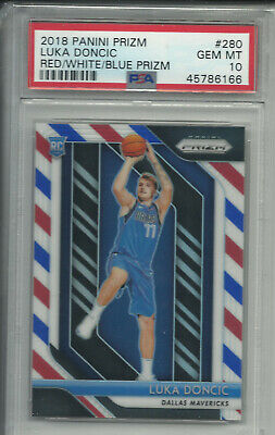 🏀🏀 LUKA DONCIC 2018 RWB PRIZM RC PSA 10 PLEASE READ BUYBACK PACK 🔥 CHASE