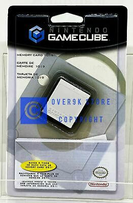 Official Nintendo GameCube Memory Card 1019 - 32MB - Brand New  Factory Sealed