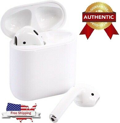 Apple AirPods 2nd Generation with Charging Case  Latest Model Geniune OEM