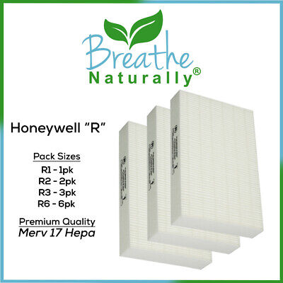 Honeywell Replacement R Hepa Filters for HRF-R3 HRF-R2 HRF-R1 Air Purifiers