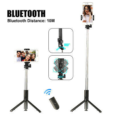 Wireless Selfie Stick Tripod Cell Phone Holder Stand -Remote Shutter Extendable