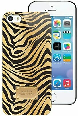 Macbeth Collection Iconic Hardshell Case for iPhone 5  5S - BLACKGOLD