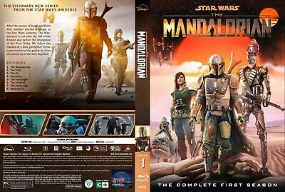 The Mandalorian Season 1 Blue ray 8 EpisodesEnglish Audio and Subtitles
