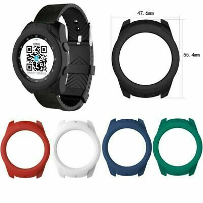 For TicWatch Pro Smart Watch 2020 Colorful Silicone Case Cover Protector Frame