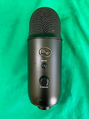 Blue Microphones Yeti Blackout Edition USB Condenserl Microphone -No Stand