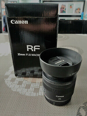 Canon RF 35mm 1.8 Macro IS STM (As NEW!)... canon rp ... canon r