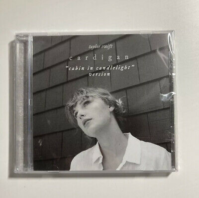 Taylor Swift Cardigan Cabin in Candlelight Edition Single CD IN HAND FREE SHIP