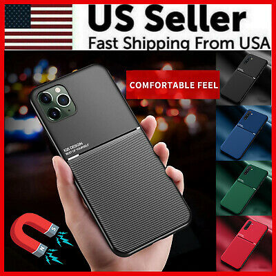 For Samsung S20 A20 A30 S20 Plus Magnetic Slim Shockproof Hybrid Thin Case Cover