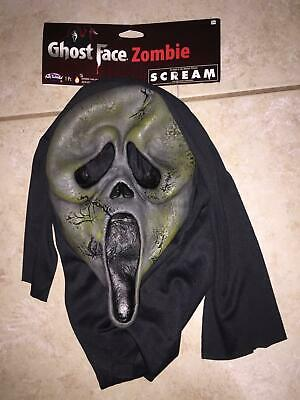 SCREAM LIKE GHOST FACE ZOMBIE HOODED HALLOWEEN MASK COSTUME FW9206ZGF