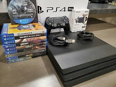 Sony PlayStation 4 PS4 Pro 1TB Bundle w8 Games - SSD Ext Drive  FREE SHIPPING