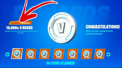 100000 Fortnite Vbucks Card ALL Devices fn fortniteaccount OG season 1 RARE S1