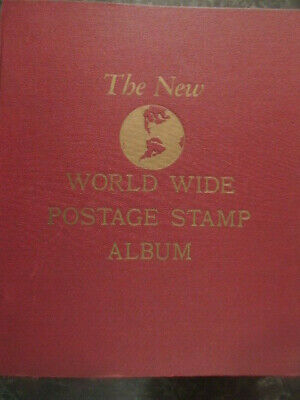 1961 The New Worldwide Stamp Album with 6112 worldwide stamps
