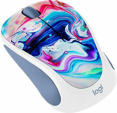 Logitech - Design Collection Wireless Optical Mouse with Nano Receiver - Cosm-