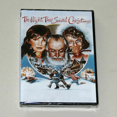 The Night They Saved Christmas DVD 1984 NEW SEALED