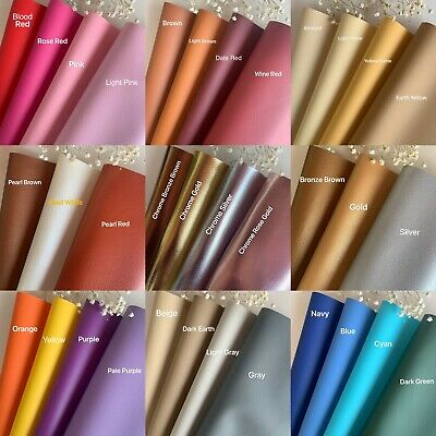 41 Colors Vinyl Fabric Faux Leather Auto Upholstery 56Wide Continuous By Yard