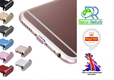Charger Port Cap Anti Dust Plug Cover for Iphone 6 7 8 X XS XR 11 12 SE Pro Max