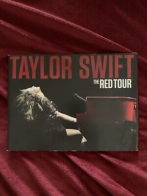 Taylor Swift RED tour book with poster insert rare acceptable condition