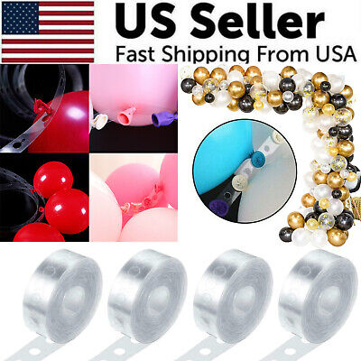 5m Balloon Chain Tape Arch Connect Strip For Wedding Birthday Party Decoration