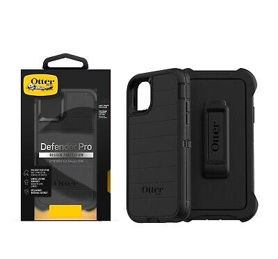 OtterBox Defender Series Pro Case - Holster for iPhone 11 6-1 Black