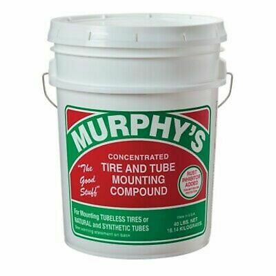 Murphys Tire And Tube Mounting Compound 40 Lb- Pail